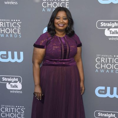 Octavia Spencer en la alfombra roja de los Critics' Choice Awards 2018