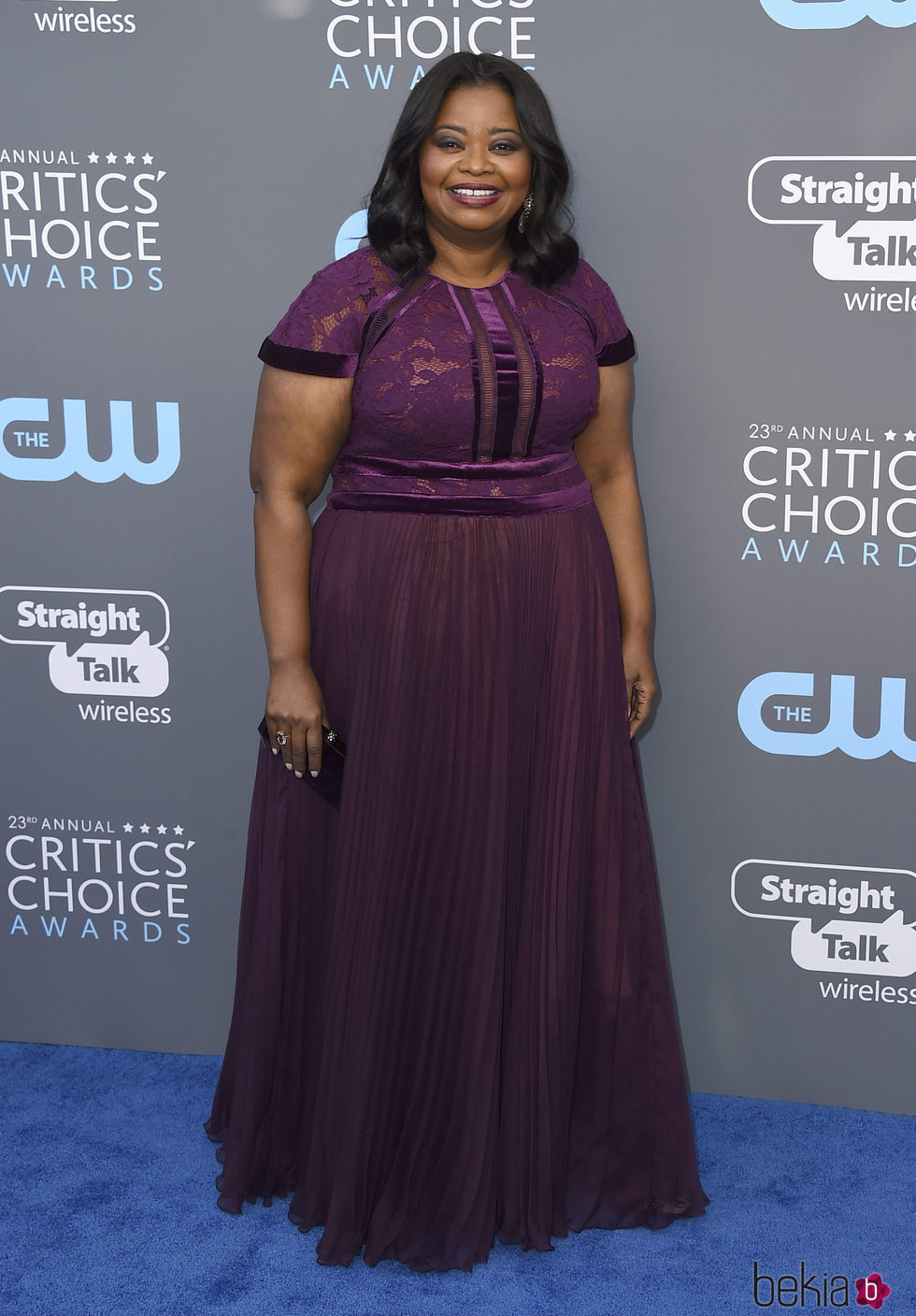 Octavia Spencer en la alfombra roja de los Critics' Choice Awards 2018