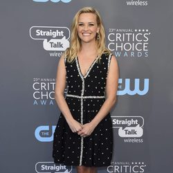 Reese Witherspoon en la alfombra roja de los Critics' Choice Awards 2018