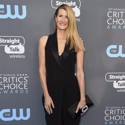 Laura Dern en la alfombra roja de los Critics' Choice Awards 2018
