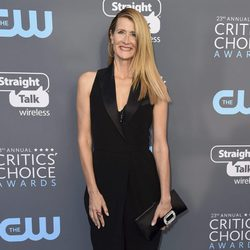 Laura Dern en la alfombra roja de los Critics' Choice Awards 2018