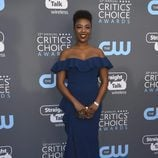 Samira Wiley e la alfombra roja de los Critics' Choice Awards 2018