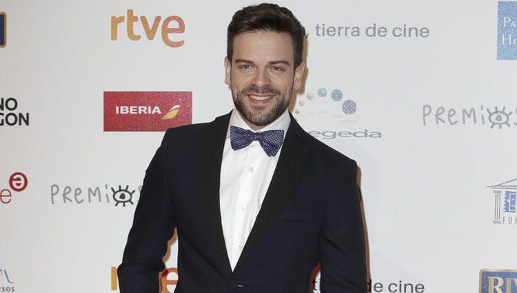 Ricky ('OT 2017') en la alfombra roja de los Premios Forqué 2018