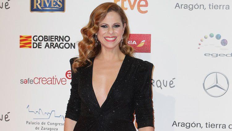 Pastora Soler en la alfombra roja de los Premios Forqué 2018