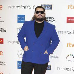 Brays Efe en la alfombra roja de los Premios Forqué 2018
