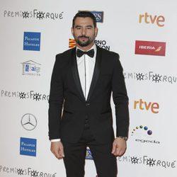 Antonio Velázquez en la alfombra roja de los Premios Forqué 2018