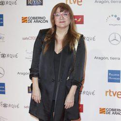 Isabel Coixet en la alfombra roja de los Premios Forqué 2018
