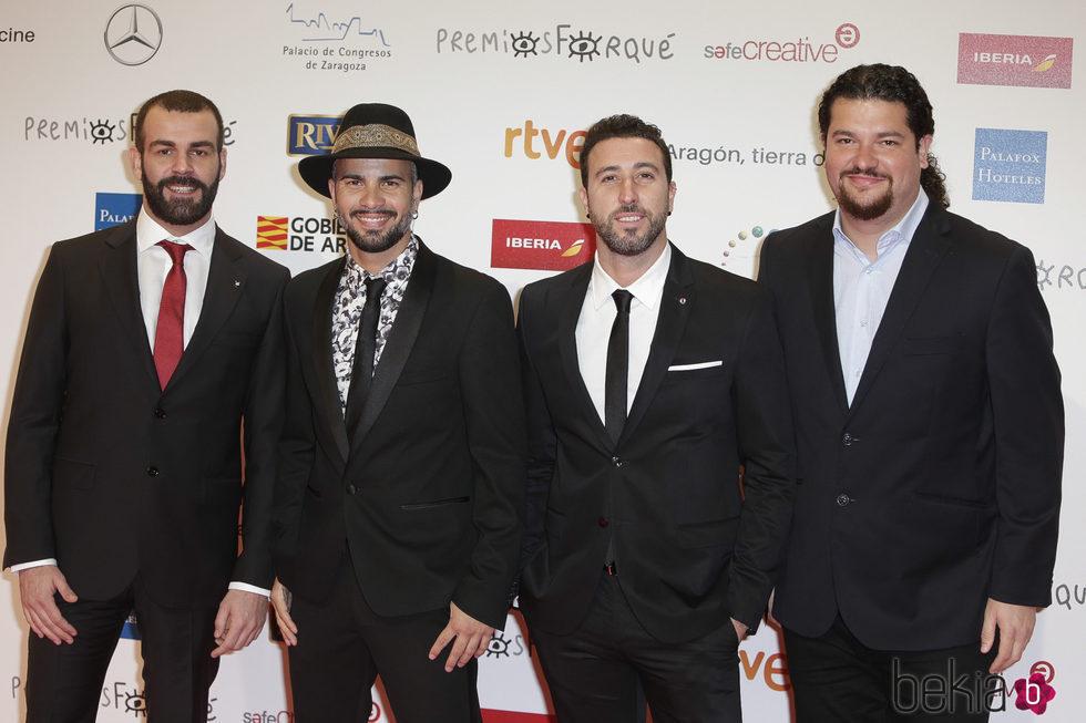 Efecto Pasillo en la alfombra roja de los Premios Forqué 2018