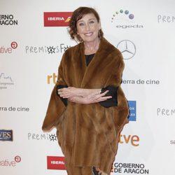 Verónica Forqué en la alfombra roja de los Premios Forqué 2018