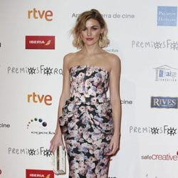 Marta Nieto en la alfombra roja de los Premios Forqué 2018