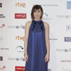 Nathalie Poza en la alfombra roja de los Premios Forqué 2018