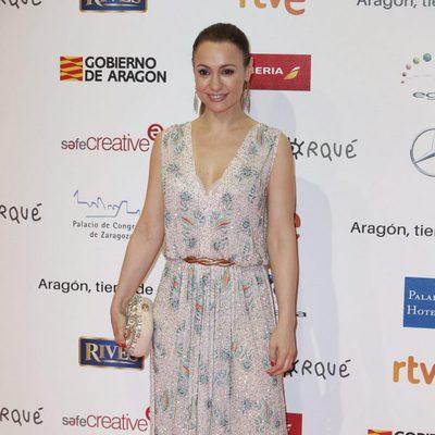 Natalia Verbeke en la alfombra roja de los Premios Forqué 2018