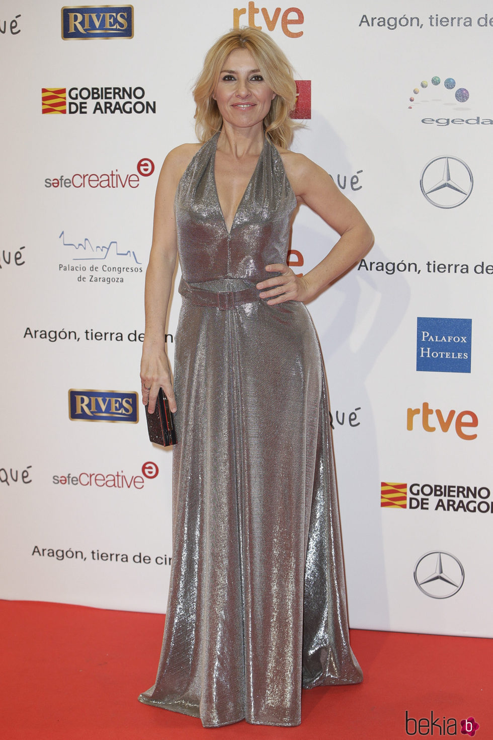 Cayetana Guillén Cuervo en la alfombra roja de los Premios Forqué 2018