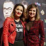 Nagore Robles y Sandra Barneda en el estreno de 'Grandes éxitos'