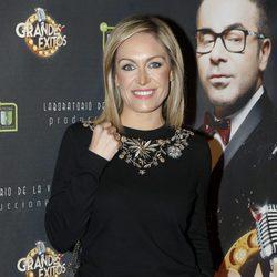 Luján Argüelles en el estreno de 'Grandes éxitos'
