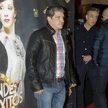 Gustavo González en el estreno de 'Grandes éxitos'