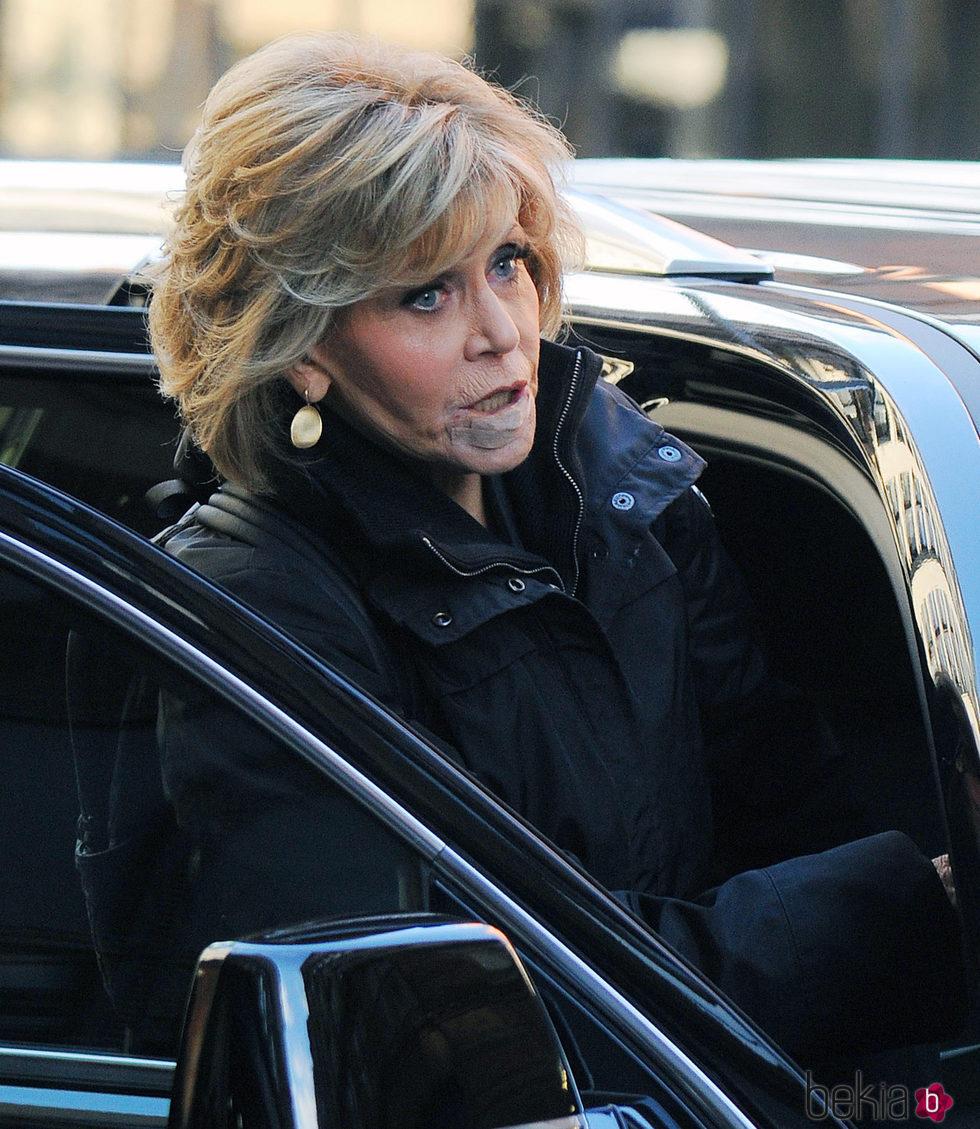 Jane Fonda en primer plano tras conocerse su cáncer labial