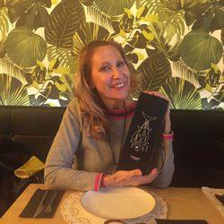 Rosa Benito en el restaurante de Paz Padilla