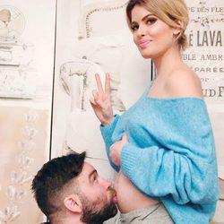 Adriana Abenia y su marido Sergio Abad anuncian que van a ser padres