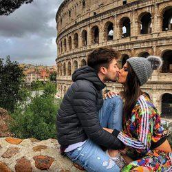 Sofía Suescun y Alejandro Albalá de viaje en Roma