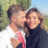 David Bisbal y Rosanna Zanetti, muy enamorados