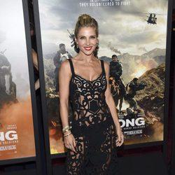 Elsa Pataky, muy sexy en la premiere de la película '12 strong'