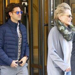 Sharon Stone paseando por Nueva York con su novio