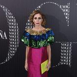 Ágatha Ruiz de la Prada en una cena organizada por Vogue