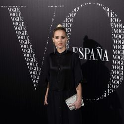 Ana Fernández en una cena organizada por Vogue