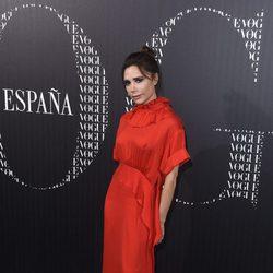 Victoria Beckham en la cena organizada por Vogue en su honor