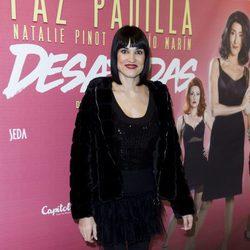 Irene Villa en el estreno de la obra teatral 'Desatadas'