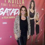 Toñi Moreno en el estreno de la obra teatral 'Desatadas'