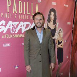 Juan Peña en el estreno de la obra teatral 'Desatadas'