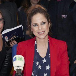 Pastora Soler en la presentación de la XXII edición de los Premios Cadena Dial
