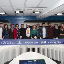Numerosos artistas en la presentación de la XXII edición de los Premios Cadena Dial