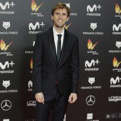 Julián López en la alfombra roja de los Premios Feroz 2018