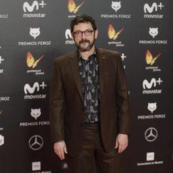 Manolo Solo en la alfombra roja de los Premios Feroz 2018