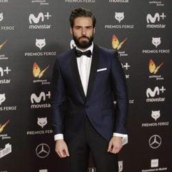 Álex Barahona en la alfombra roja de los Premios Feroz 2018