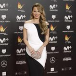 Vanesa Romero en la alfombra roja de los Premios Feroz 2018