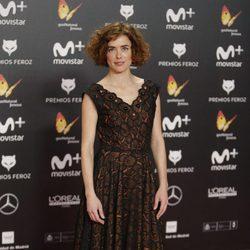 Patricia López Arnaiz en la alfombra roja de los Premios Feroz 2018