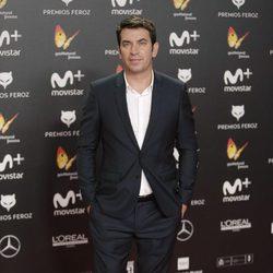 Arturo Valls en la alfombra roja de los Premios Feroz 2018