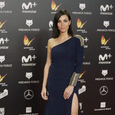 Nerea Garmendia en la alfombra roja de los Premios Feroz 2018