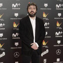 Víctor García León en la alfombra roja de los Premios Feroz 2018