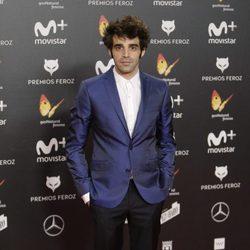 David Verdaguer en la alfombra roja de los Premios Feroz 2018