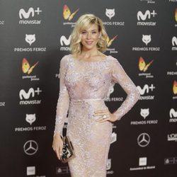 Patricia Montero en la alfombra roja de los Premios Feroz 2018