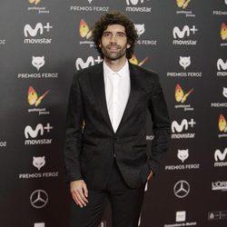 Tamar Novas en la alfombra roja de los Premios Feroz 2018