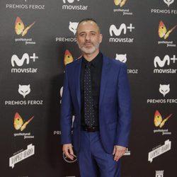 Javier Gutiérrez en la alfombra roja de los Premios Feroz 2018