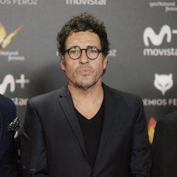 Daniel Écija en la alfombra roja de los Premios Feroz 2018