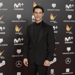 Alejo Saura en la alfombra roja de los Premios Feroz 2018
