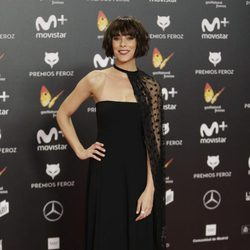 Belén Cuesta en la alfombra roja de los Premios Feroz 2018